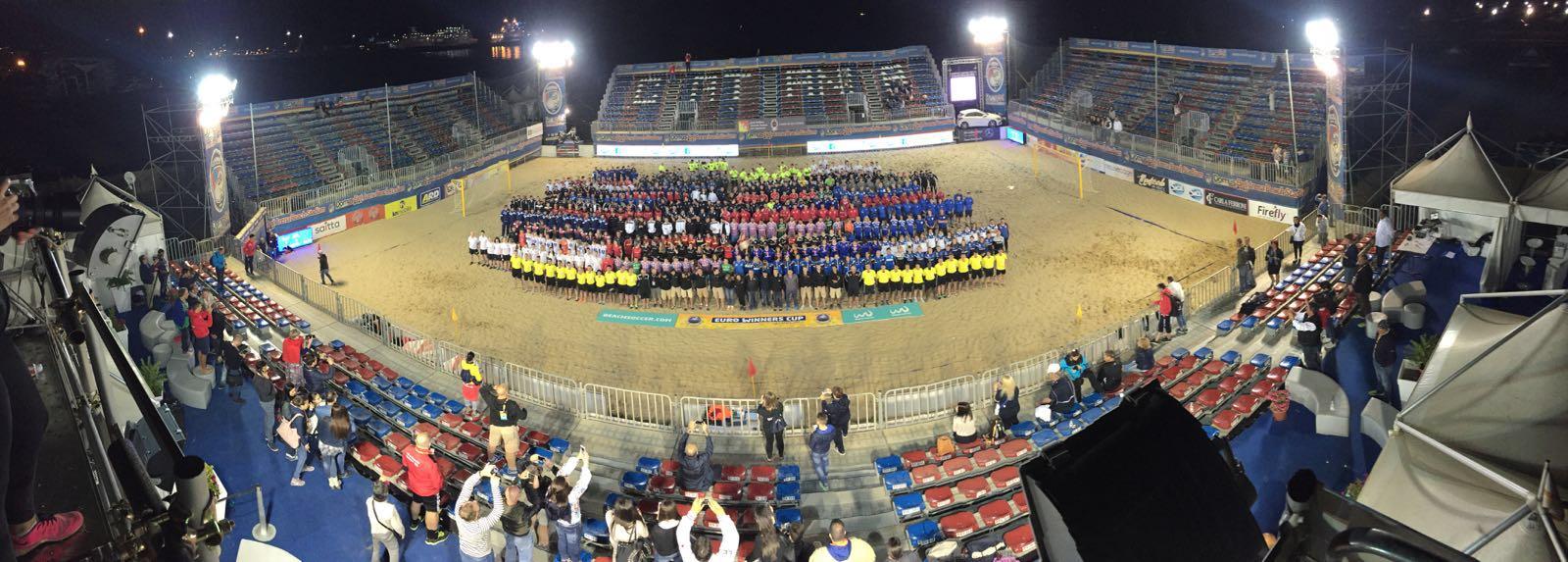 Illuminazione Beach Arena Catania MGservice