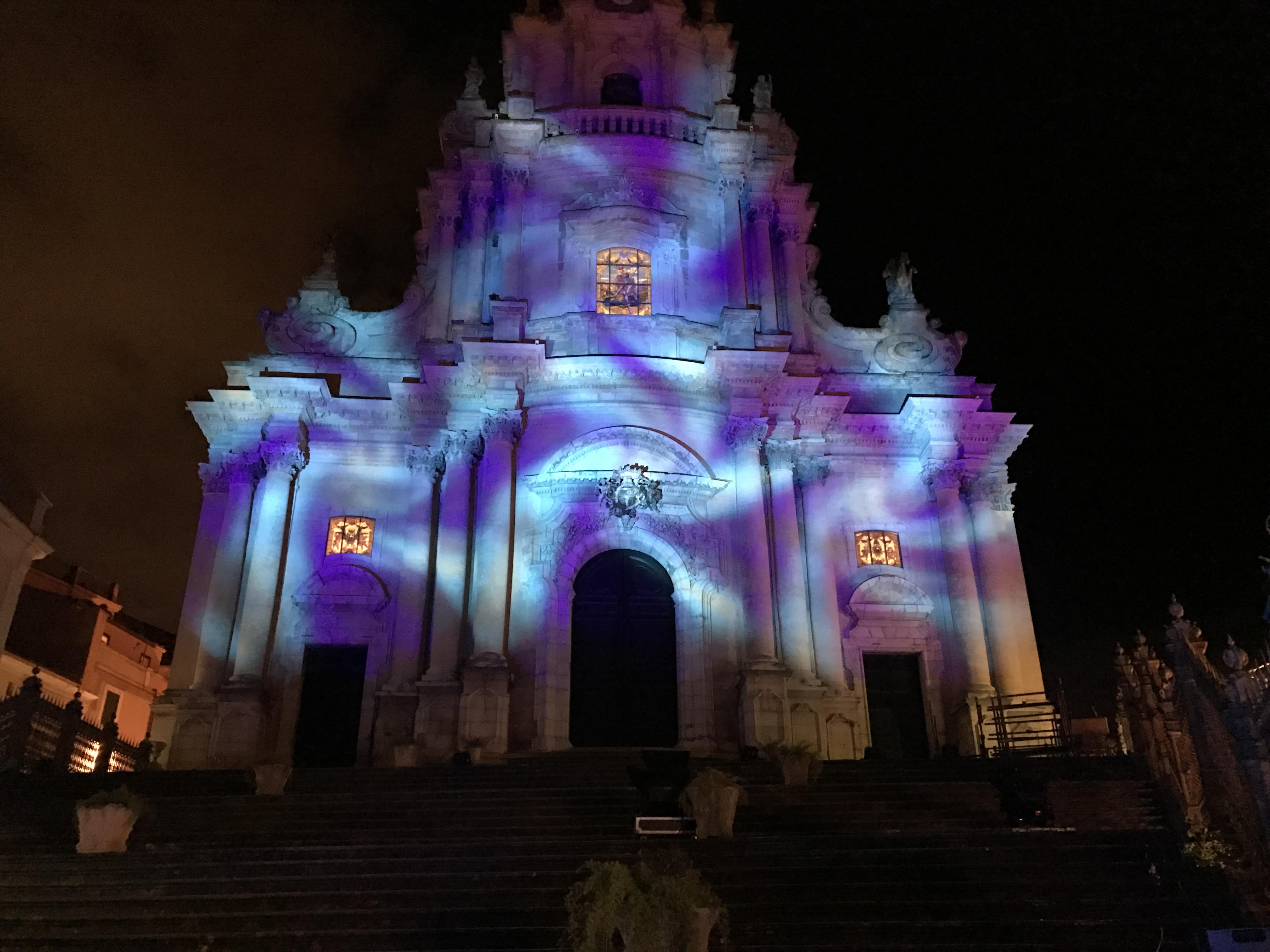 Illuminazione Architetturale Ragusa Ibla 2016